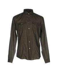 John Varvatos Green Shirt for men