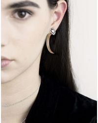 PAOLA GRANDE - Metallic Earrings - Lyst