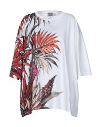 Fausto Puglisi - White T-shirt - Lyst