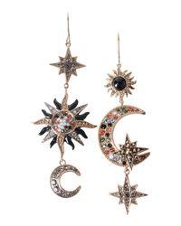 Roberto Cavalli - Metallic Earrings - Lyst