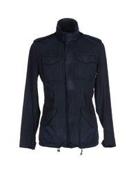 Hevò - Blue Jacket for Men - Lyst