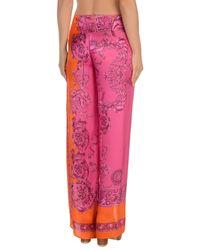 Versace - Orange Beach Dress - Lyst