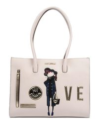 Love Moschino - White Handbag - Lyst