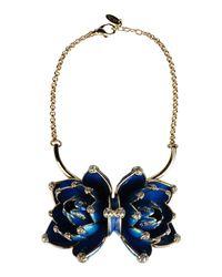 Roberto Cavalli - Blue Necklace - Lyst