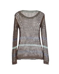 Fairly - Brown Sweater - Lyst