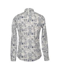Roy Rogers Blue Shirt for men