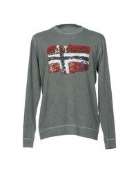 Napapijri | Gray T-shirt for Men | Lyst