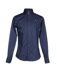 Vivienne Westwood - Blue Shirt for Men - Lyst