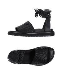 Gentry Portofino Black Sandals