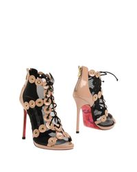 Luciano Padovan - Multicolor Ankle Boots - Lyst