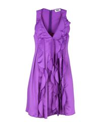 Sonia by Sonia Rykiel - Purple Short Dress - Lyst