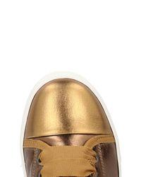 Lanvin Metallic Low-tops & Sneakers