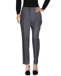 Dolce & Gabbana - Gray Casual Pants - Lyst