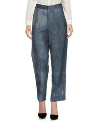 Aganovich - Blue Casual Pants - Lyst
