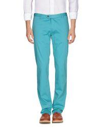 Maestrami - Blue Casual Trouser for Men - Lyst