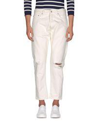 Covert - White Denim Trousers for Men - Lyst