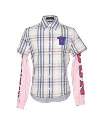Frankie Morello - White Shirt for Men - Lyst