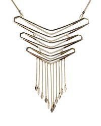 Noir Jewelry Metallic Necklace