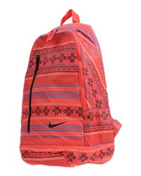 d1bb95c9ad Lyst - Nike Backpacks   Bum Bags in Red