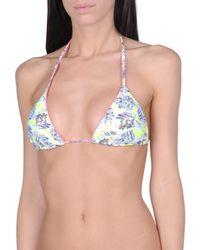 Juicy Couture - White Bikini Top - Lyst