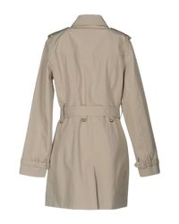 Save The Duck - Natural Overcoat - Lyst