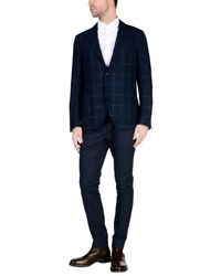 Etro - Blue Blazer for Men - Lyst