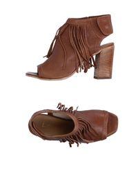 Lemarè - Brown Sandals - Lyst
