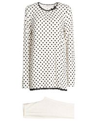 Verdissima - Gray Sleepwear - Lyst