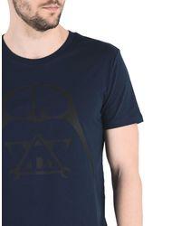 ALVARNO - Blue T-shirt for Men - Lyst