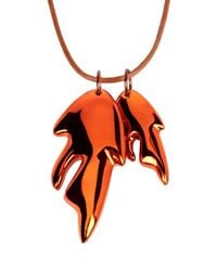 Cedric Charlier - Brown Necklace - Lyst