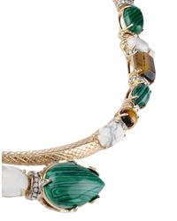 Roberto Cavalli - Green Necklace - Lyst