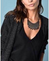 Jolie By Edward Spiers - Gray Necklace - Lyst