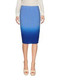 Bailey 44 - Blue Knee Length Skirt - Lyst