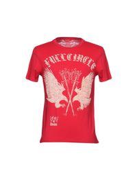 Full Circle - Red T-shirt for Men - Lyst
