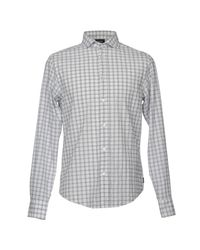 Armani Jeans - Gray Shirt for Men - Lyst