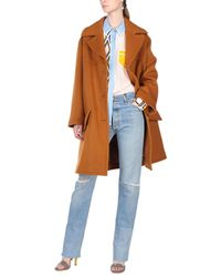 Marni - Brown Coat - Lyst