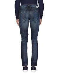 Haikure Blue Denim Trousers for men