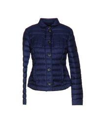 Hogan   Blue Down Jacket   Lyst
