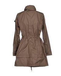 Peuterey - Brown Overcoat - Lyst