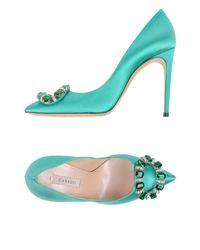 Casadei - Green Pumps - Lyst