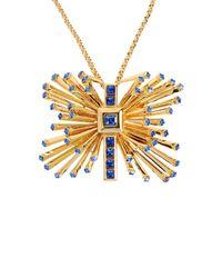 Emanuel Ungaro - Blue Necklaces - Lyst