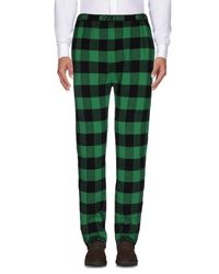 Moschino - Green Casual Trouser for Men - Lyst