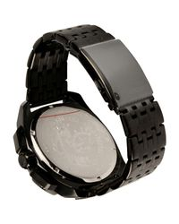 DIESEL - Black Wrist Watches for Men - Lyst