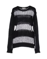 IRO - Black Jumper - Lyst