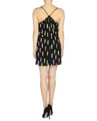 Mauro Grifoni - Black Short Dress - Lyst