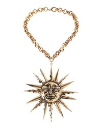 Fausto Puglisi - Metallic Necklaces - Lyst