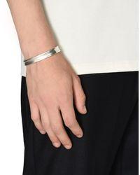 Maison Margiela - Metallic Bracelet for Men - Lyst
