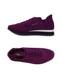Pedro Garcia - Purple Low-tops & Sneakers - Lyst