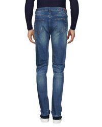Sun 68 - Blue Denim Pants for Men - Lyst