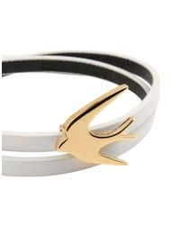 McQ Alexander McQueen - White Bracelet - Lyst